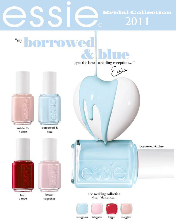 Hot New Nail Polish Collections For The Bride Bridesmaids From