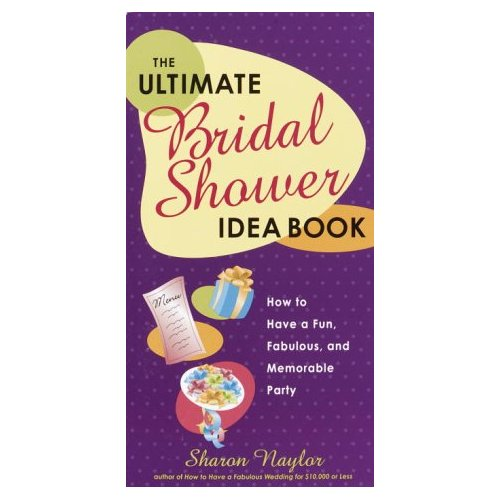 Bridal Shower Book
