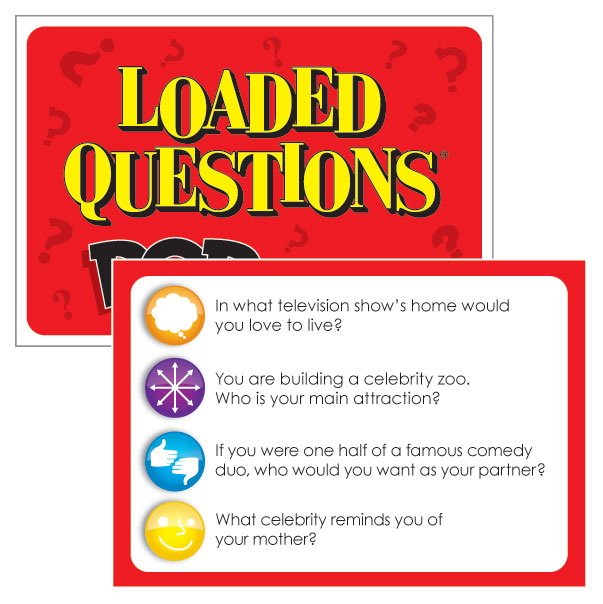 Fab Find! Loaded Questions Party Game