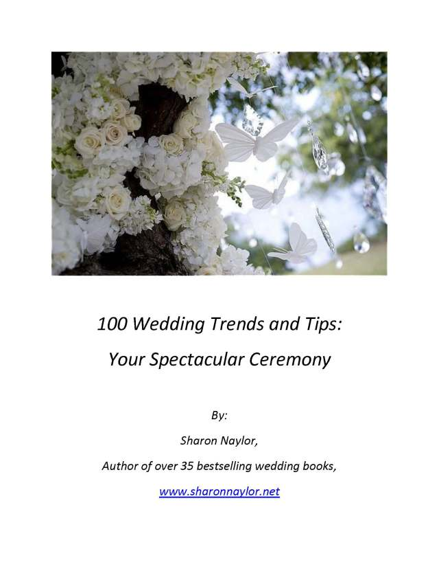 100 Wedding Trends and Tips cover