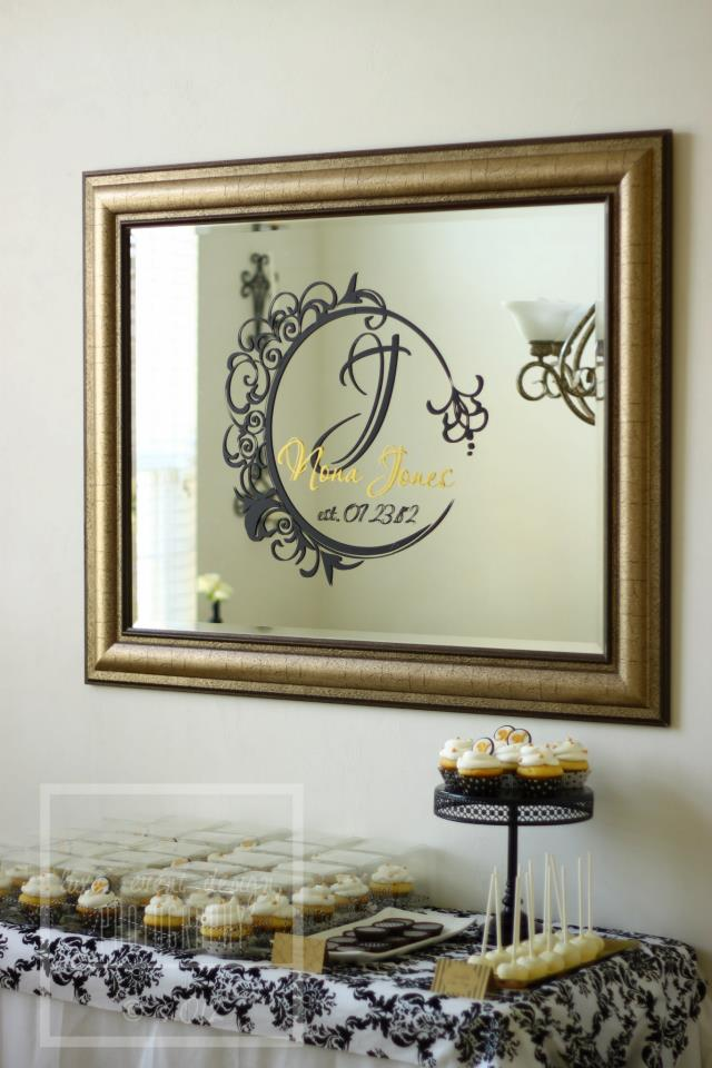 ten23Designs mirror decor
