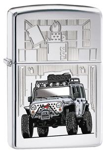 zippo jeep