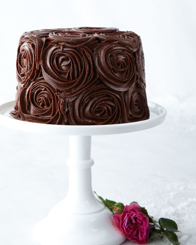 nm rose cake chocolate