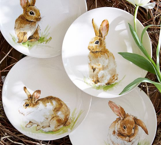Fab Find! Pottery Barn's Easter Bunny Tableware